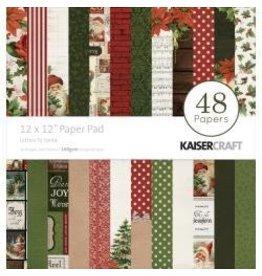 Kaisercraft KS 12x12 letters to Santa pad