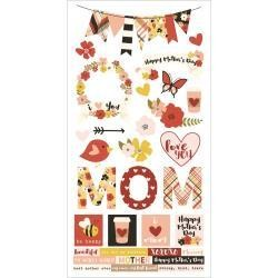 Simple Stories SS stickers Mom