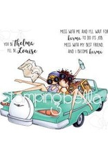 Stamping Bella SB stamp thelma and louise