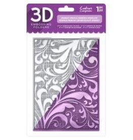 Crafter's Companion CC embossing folder regency swirls