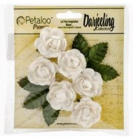 Petaloo PLoo mini rosettes white