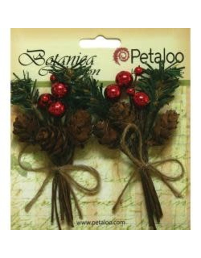 Petaloo PLoo pinecone and berries