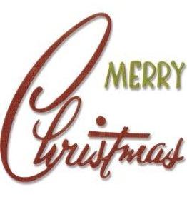 Tim Holtz TH sizzix retro Merry Christmas