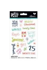 Bella Blvd BB advent stickers