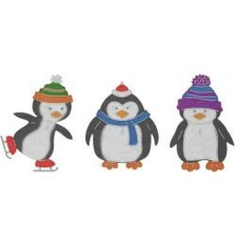 Cheery Lynn Designs CLD die penguin pals