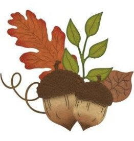 Cheery Lynn Designs CLD die acorns and leaves