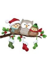 Cottage Cutz CC die holiday owls