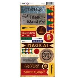 Moxxie MX Harry Potter stickers