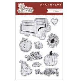 Photo PLay PP stamp autumn orchard