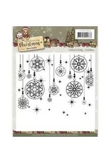 Amy Design AD embossing folder celebrating Christmas