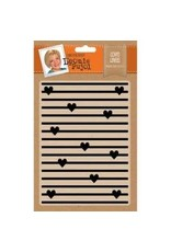 Crafter's Companion LP embossing folder hearts