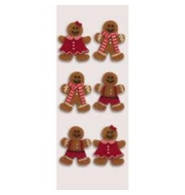 LittleB LB stickers Gingerbread people
