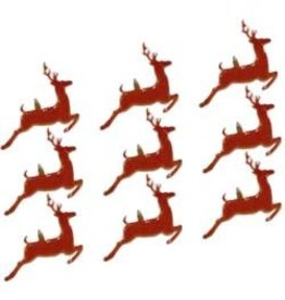 Eyelet Outlet EO brads jumping deer