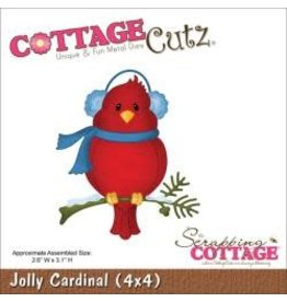 Cottage Cutz CC die jolly cardinal