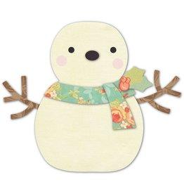 Memory Box MB die deep edge cheering snowman