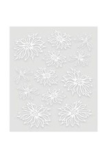 Couture Creations CC vellum poinsettia