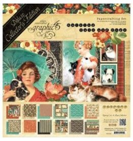 Graphic 45 G45 12x12 collecters edition cats and dogs