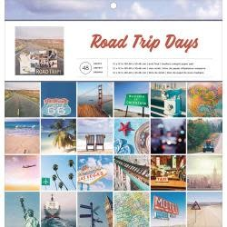 American Crafts AC 12x12 Road trip days