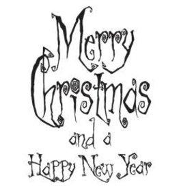 IndigoBlu IB stamp Grunge Merry Christmas