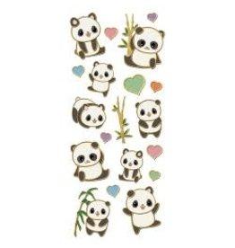 Paper House PH stickers pandas