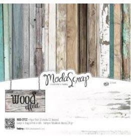 MODASCRAP Modascrap 6x6 wood effect