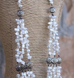 Pearl Tiered Concho