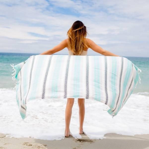 Sandcloud Sand Cloud Beach Blanket Seafoam Baja