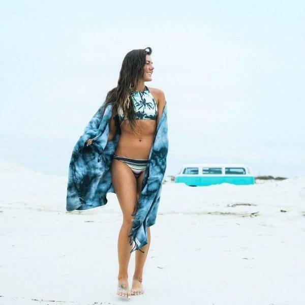Sandcloud Sand Cloud Beach Towel Black Acid Wash