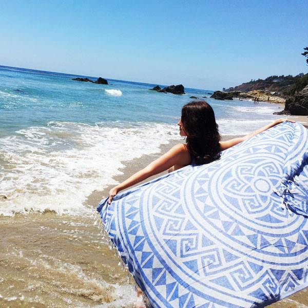 Sandcloud Sand Cloud Towel Iris