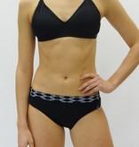 Melika Melika Avery Swim Bottom Black/Sunset Strip