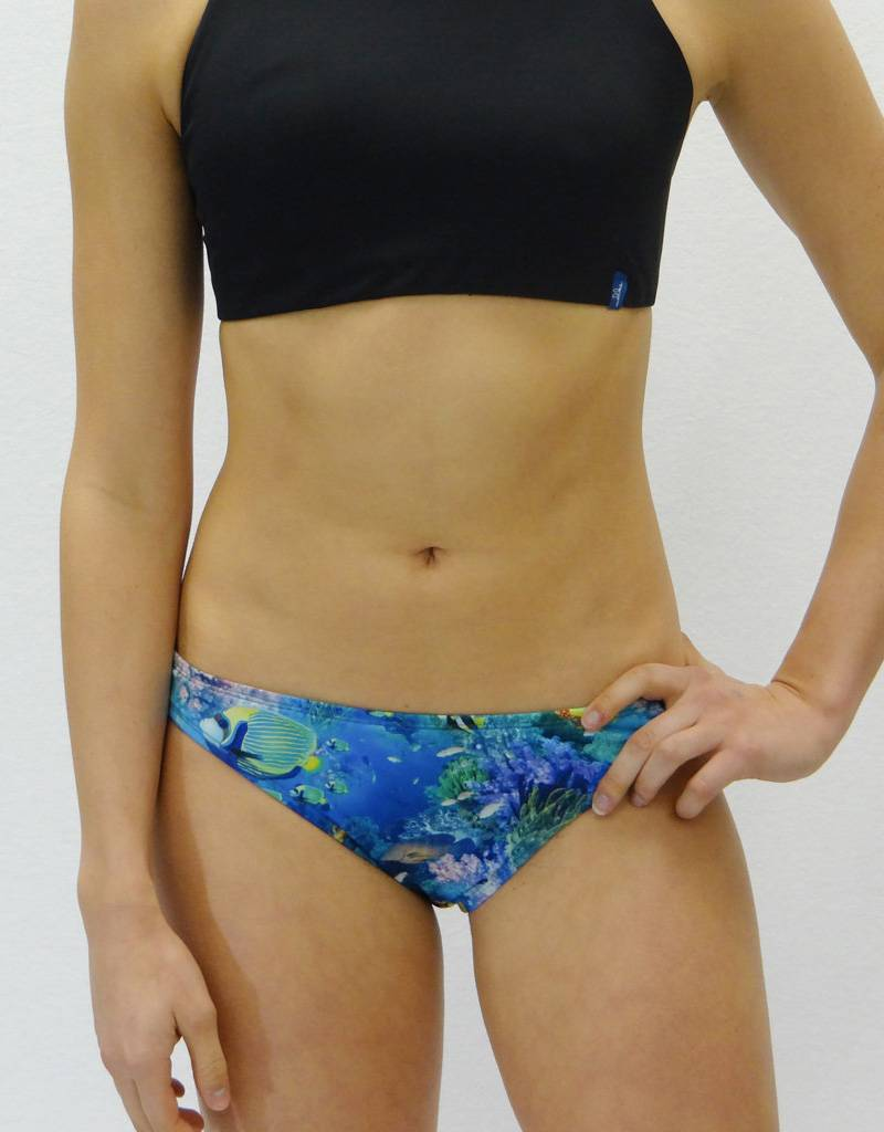 Melika Melika Becca Swim Bottom Deep Sea