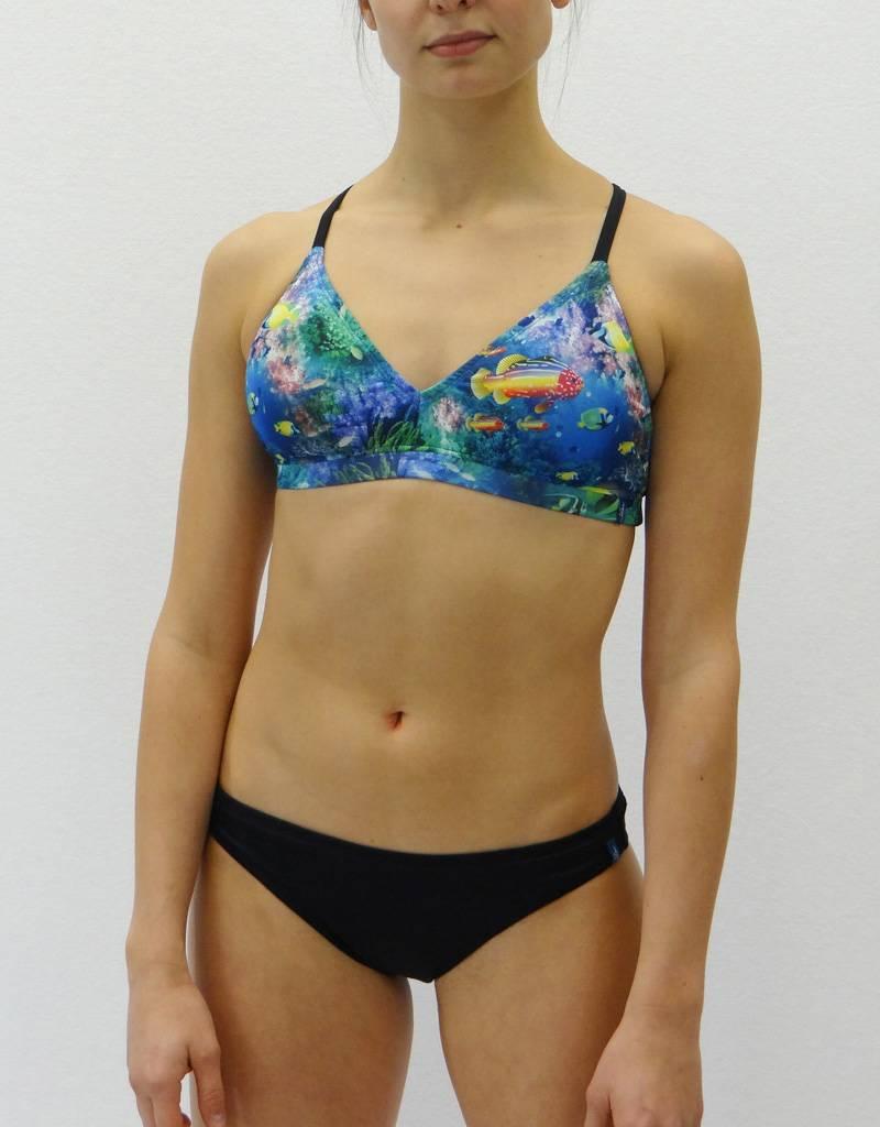 Melika Melika Holly Bikini Top Deep Sea