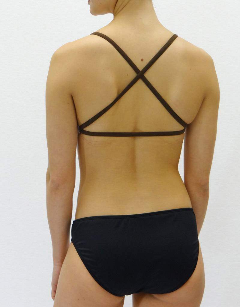 Melika Melika Holly Bikini Top Black