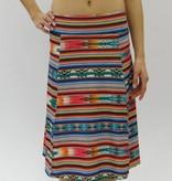 Melika Melika City Skirt Celilo Stripe