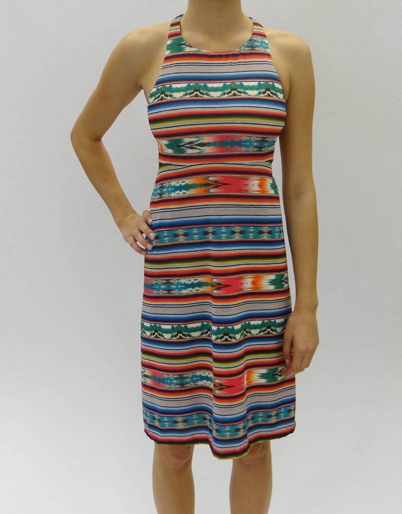 Melika Melika Sae Dress Celilo Stripe