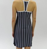 Melika Melika Malia Dress Sunset Strip/Black