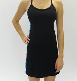 Melika Melika Malia Dress Black/Deep Sea