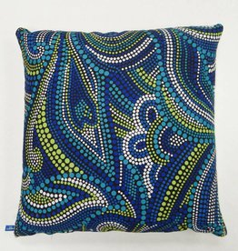 Melika Melika Throw Pillow Aussie Dots Print