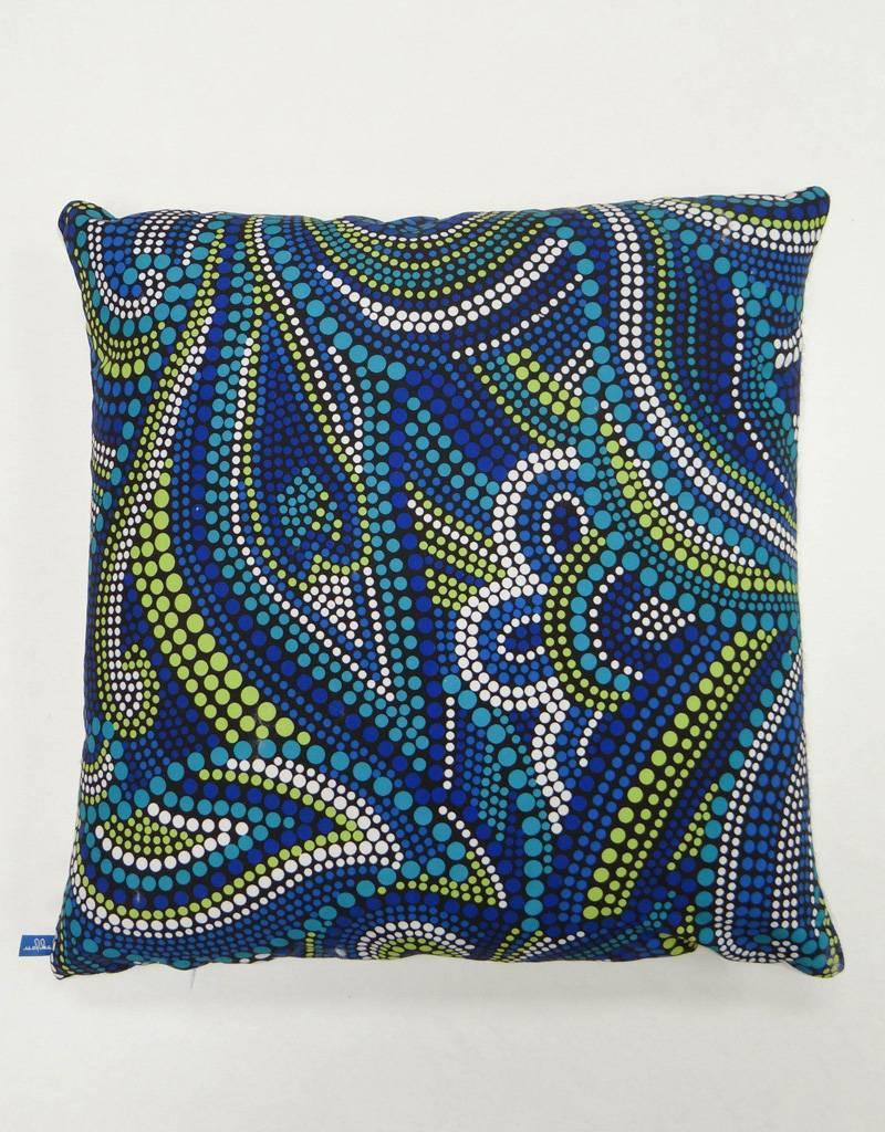 Melika Melika Throw Pillow Aussie Dots Print