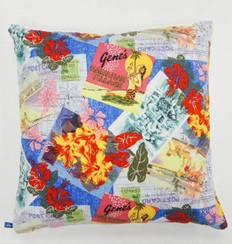 Melika Melika Throw Pillow Postcard Print