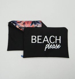 Melika Melika Bikini Bag Black/Star Palm