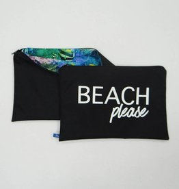 Melika Melika Bikini Bag Black/Deep Sea