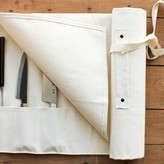 Japanese Canvas Knife Roll White