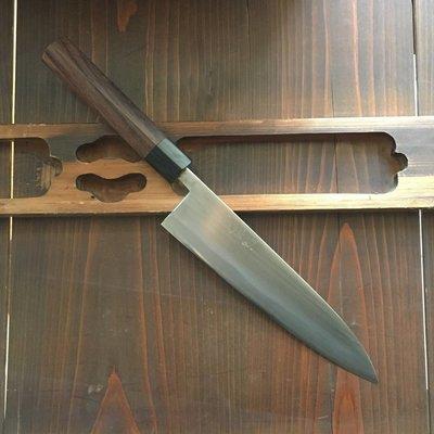 Wakui 210mm Gyuto Shirogami #2 Red Ebony 'D'
