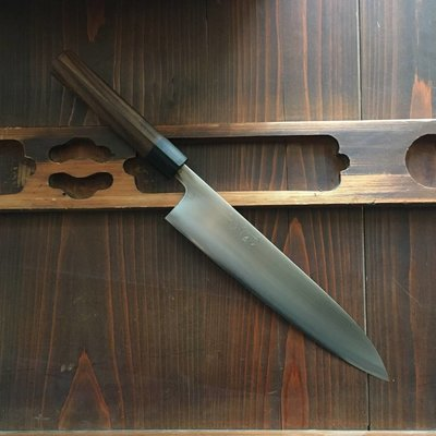 Wakui 240mm Gyuto Shirogami #2 Red Ebony