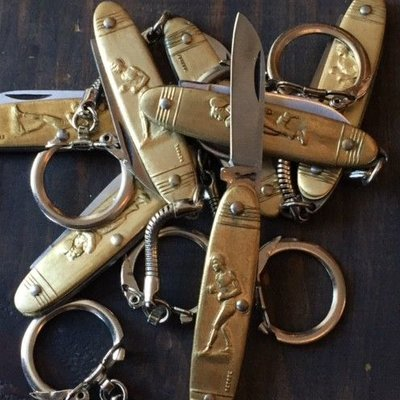 Coursolle Keychain Carbon Blade