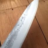 Ohishi 210mm Gyuto Nashiji Aogami #2 Bubinga Handle