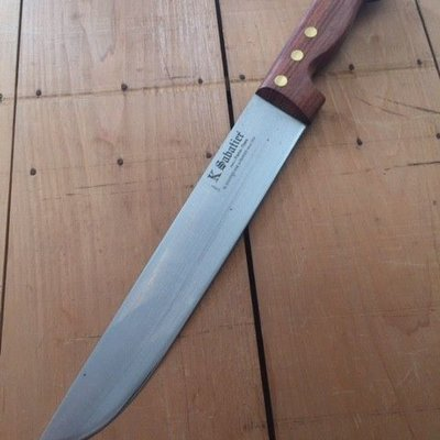 """K Sabatier 200mm 8"""" 'Boucher' Rosewood Carbon Steel"""