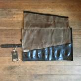 EvenOdd Tool Roll Waxed Canvas/ Bike Tube Field Tan