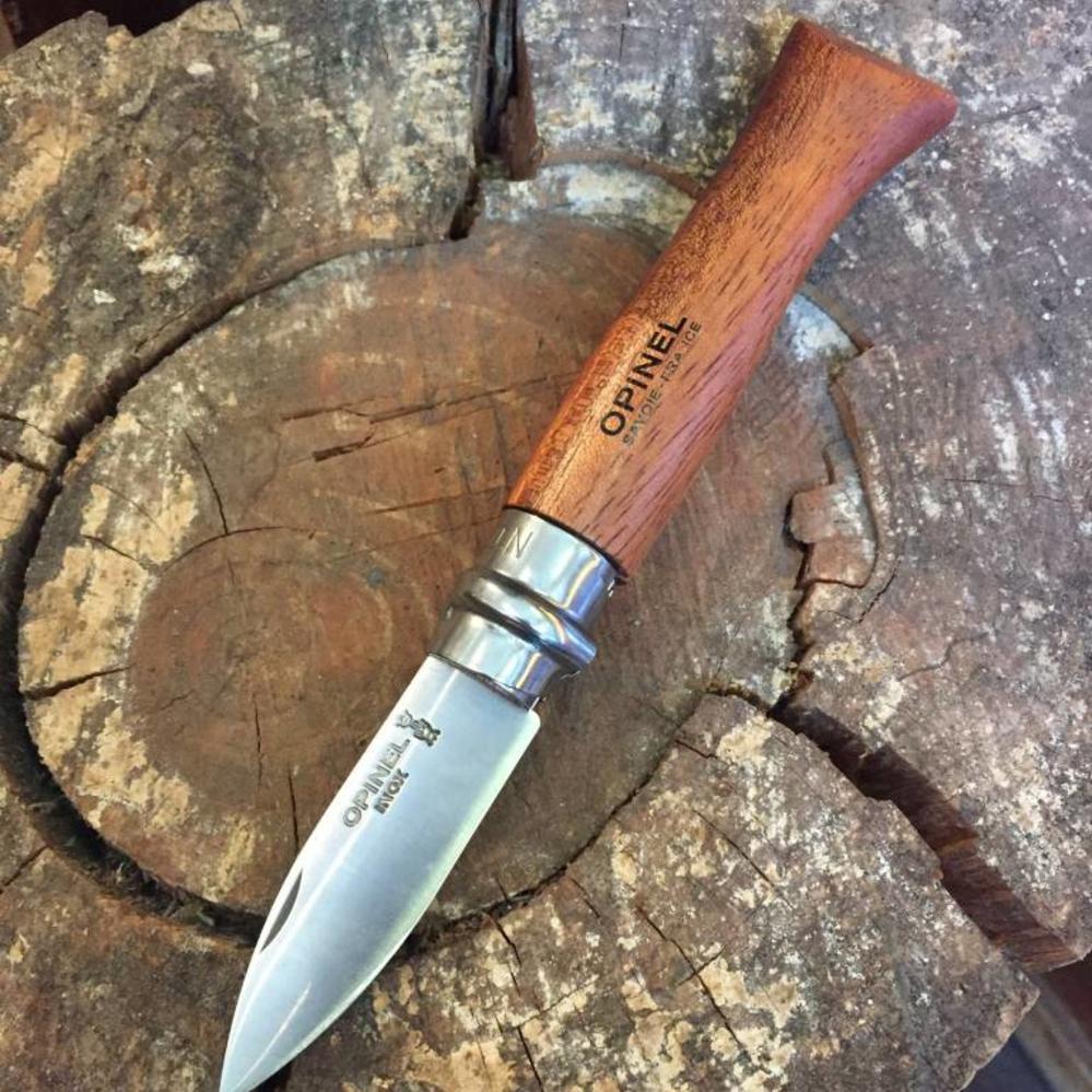 Opinel Oyster Knife Bubinga Handle Bernal Cutlery